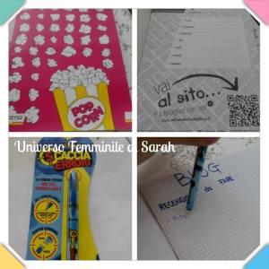 quaderno e penna cancell