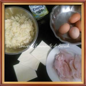 ingredienti rotolo