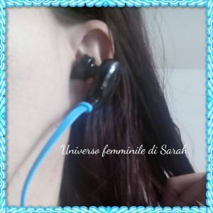 cuffia nell orecchio