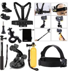 kit accessori action cam