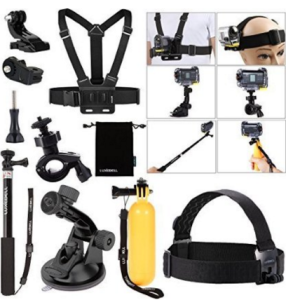 kit accessori action cam