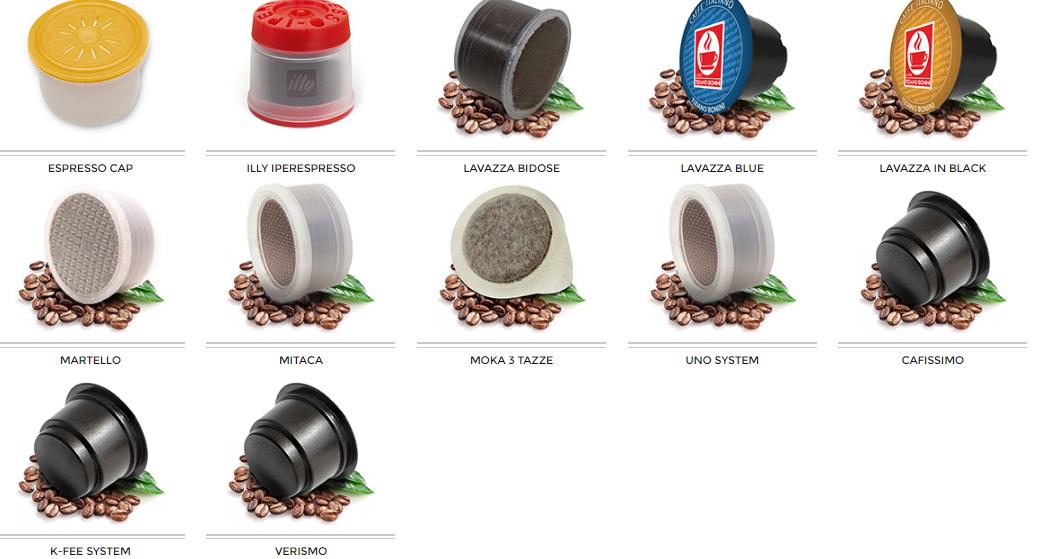 Caff bonini su caff com - Diversi tipi di caffe ...